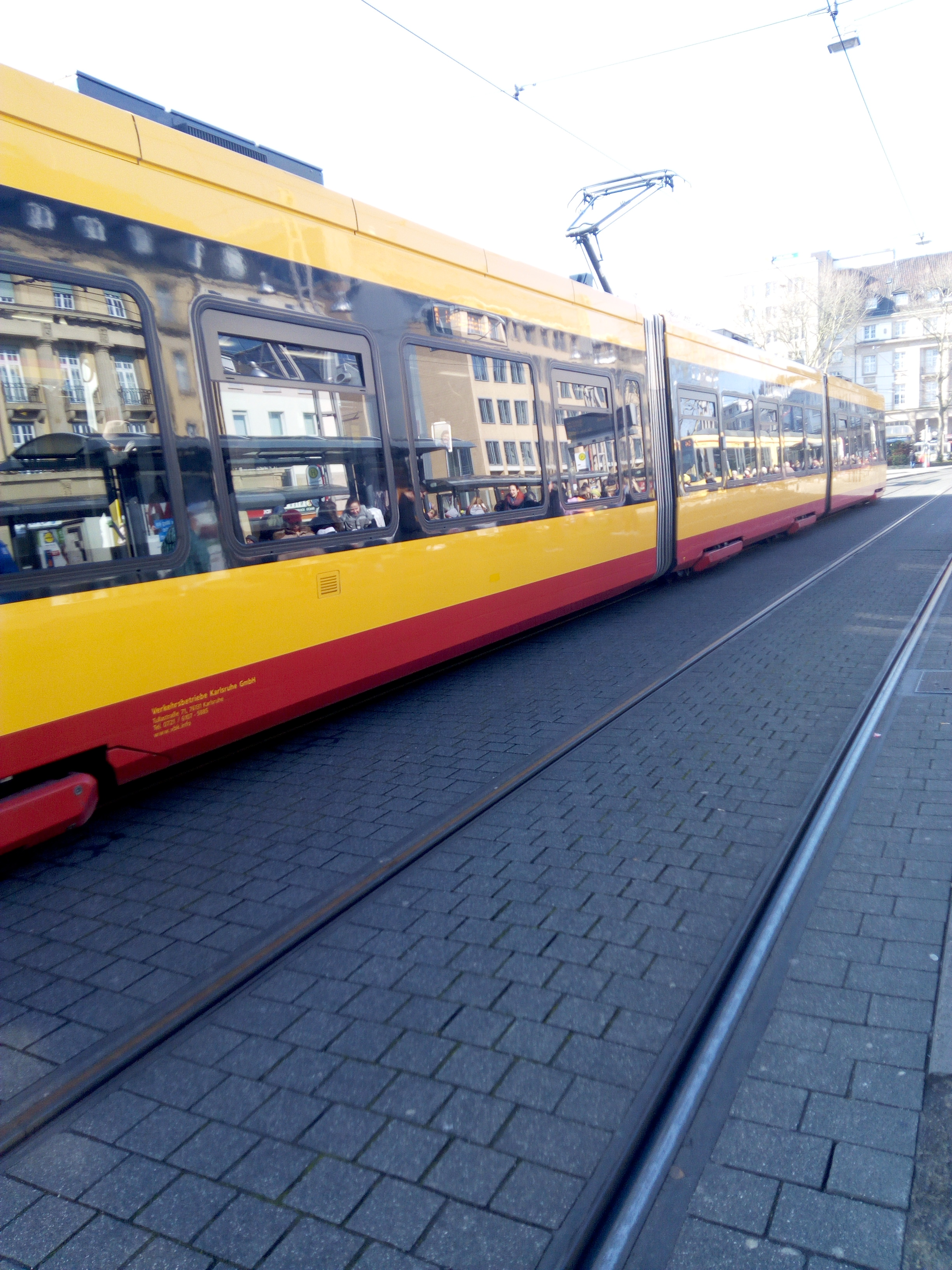 a tram image in Germany